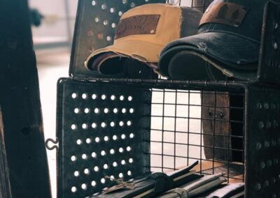 Banister Goodes: local trucker hats and leather journals in Bedford, Virginia