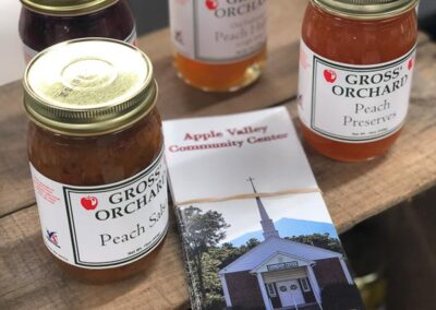 Gross's Orchard: locally made jams in Bedford, Virginia