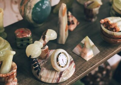 Eclectic marble gifts in Bedford, Virginia