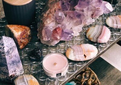 Stones for home decor at Electric Co. Market